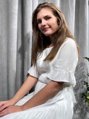 Enkel konfi kjole MOLLY