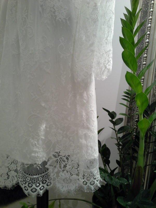 Smuk konfirmationskjole med blonder JANE