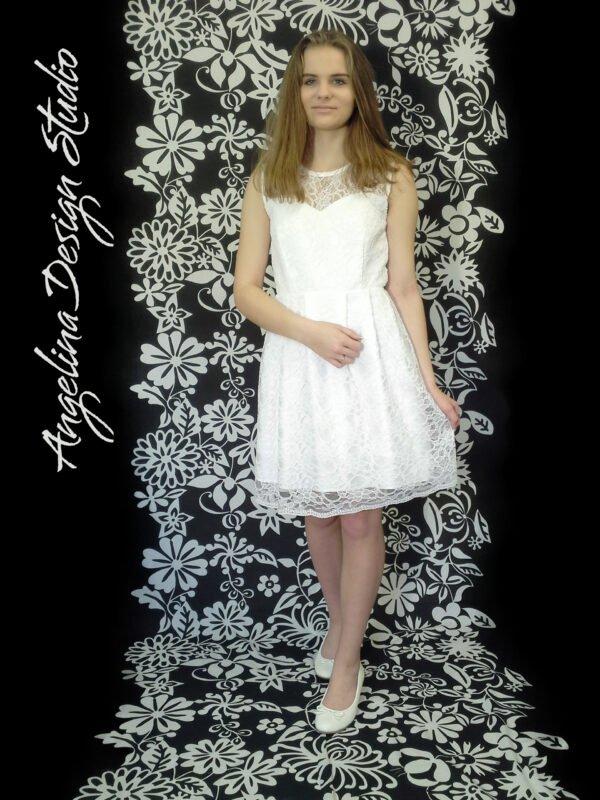 Blonde konfi kjole NANNA