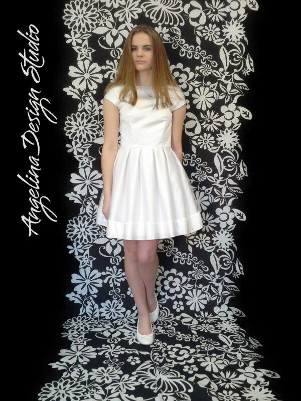 Konfi kjole med dyb ryg ANNA