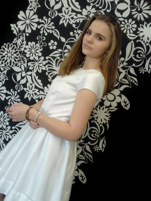 Billig konfirmationskjole Anna