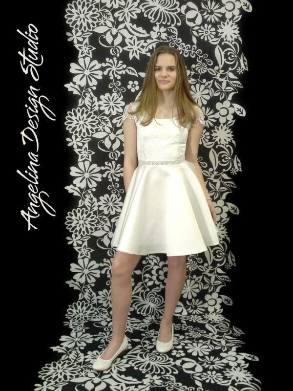 Enkel konfi kjole blonde LUCCA